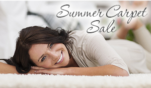 Summer Carpet Sale this month - don't miss the savings!