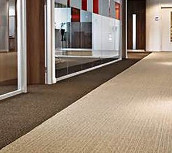 Giese Carpet provides installation services for all types of commercial applications.