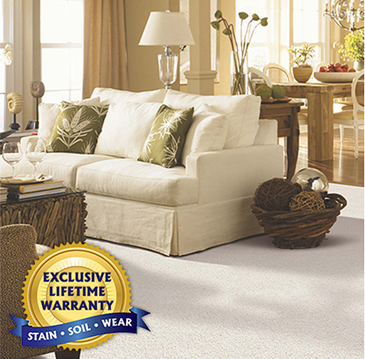 SmartStrand Silk Forever Clean | The toughest, softest, easiest to clean carpet on the planet.