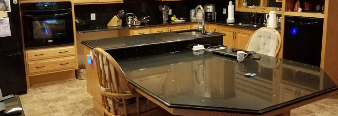 Flooring - Countertops - Painting Project Completed by Giese Carpet - Location: Stacy, MN