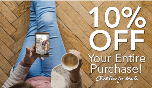 10% OFF your purchase order of products or services this month only!