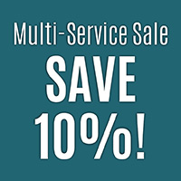 Anniversary Flooring Sale  Multi-Service Sale  Save 10% on projects that include both flooring and cabinet or countertop purchases.